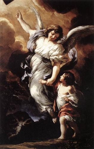 Pietro-da-Cortona-the-guardian-angel
