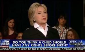 EEUU: Clinto y Sanders fueron cuestionados sobre el aborto en un debate en Fox News.