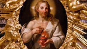 Devoción al Corazon agonizante de Jesús.