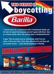 El rey de la pasta italiana se disculpa tras decir que el «nunca» representaría una  familia homosexual en sus comerciales de televisión