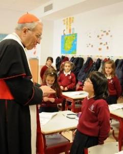 El colegio Edith Stein promueve que sus alumnos se vistan de santos el día en que todo el mundo celebra Halloween