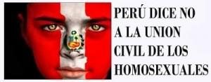 CONTUNDENTE: 70.3% de peruanos se oponen a la Unión Civil del Mismo Sexo