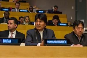 Bolivia promoverá un orden mundial justo y sostenible