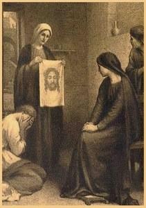 ORACIÓN A LA SANTA FAZ DE CRISTO (de Santa Teresita del Niño Jesús)