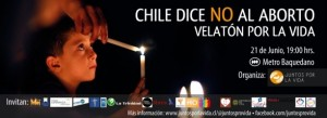 Chile dice no al aborto.