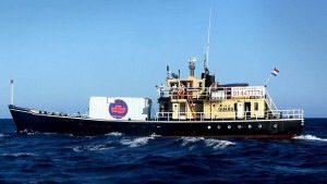 «El barco de la muerte» llega a las costas Americanas.