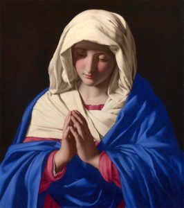 Oración a la Virgen para cuando uno va salir.
